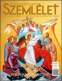 Görögkatolikus Szemlélet 2020 tavaszi címlap feltámadás ikonnal